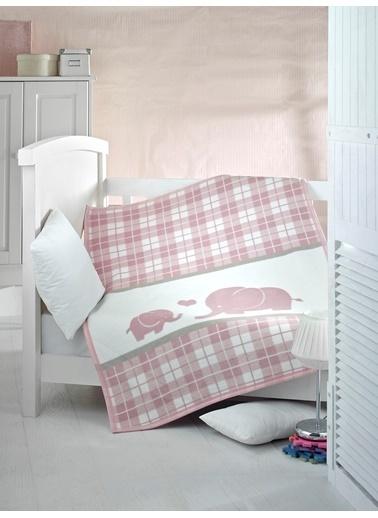 Komfort Home Kids Pamuklu Bebek Battaniyesi 100x120 CM Renkli